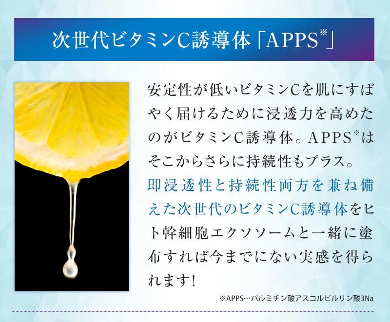 次世代ビタミンC誘導体「APPC」